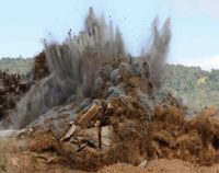 PDH Course picture of rock excavations blasting design part 1